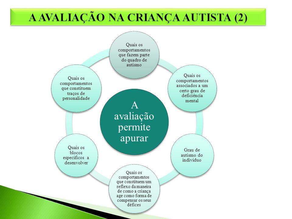A AVALIAÇÃO NA CRIANÇA AUTISTA (2)