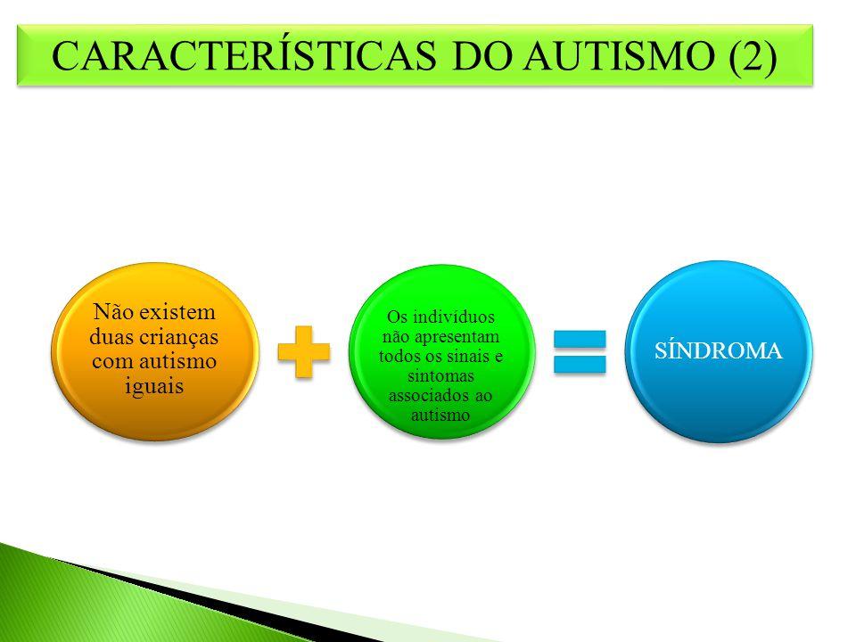CARACTERÍSTICAS DO AUTISMO (2)