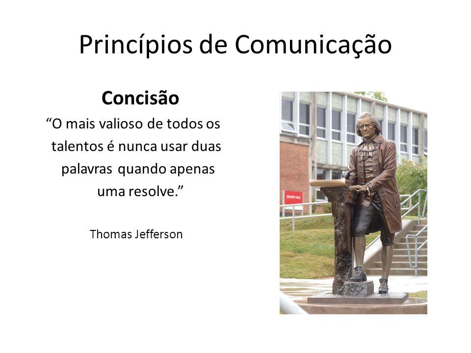 Princípios de Comunicação