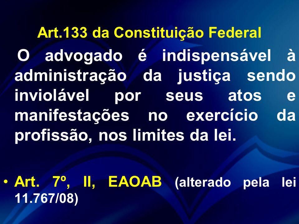 Art.133 da Constituição Federal