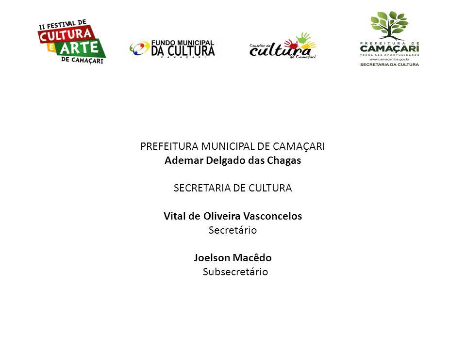 PREFEITURA MUNICIPAL DE CAMAÇARI Ademar Delgado das Chagas