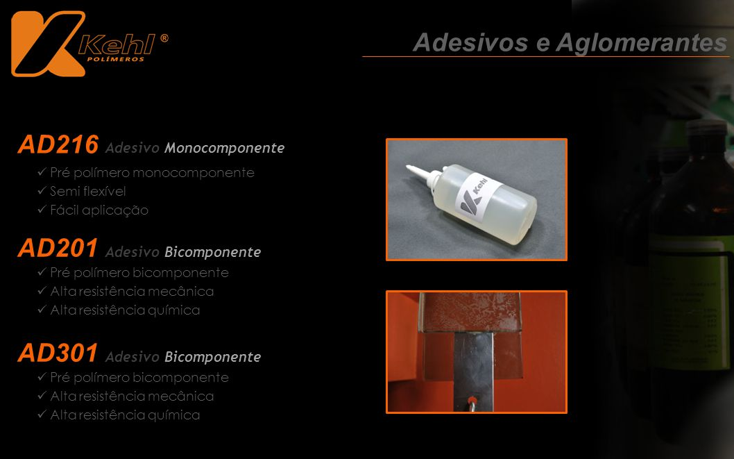 Adesivos e Aglomerantes