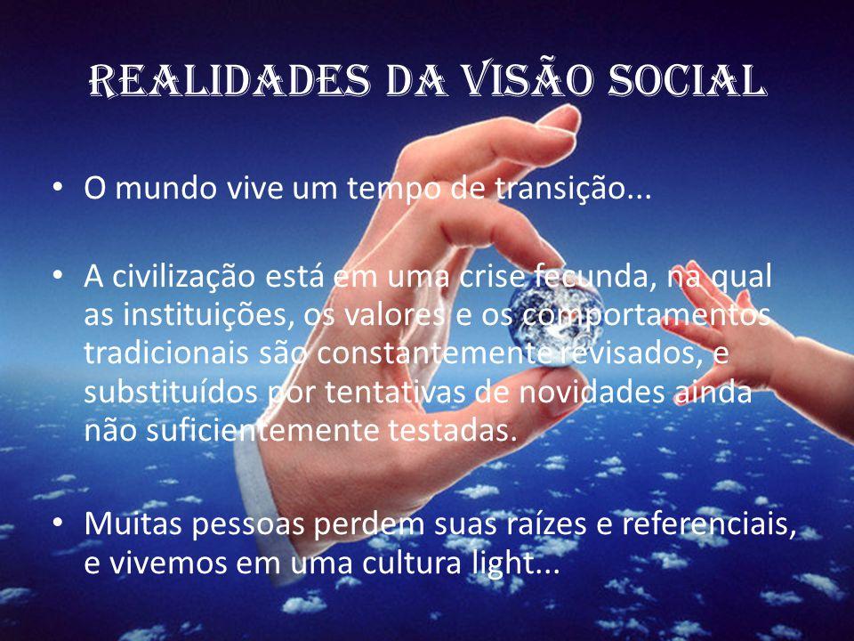 REALIDADES DA VISÃO SOCIAL