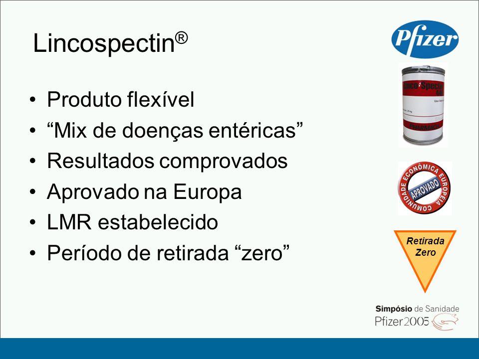 Lincospectin® Produto flexível Mix de doenças entéricas
