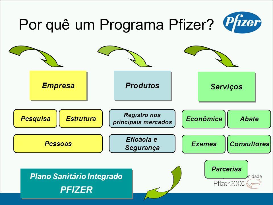 Por quê um Programa Pfizer