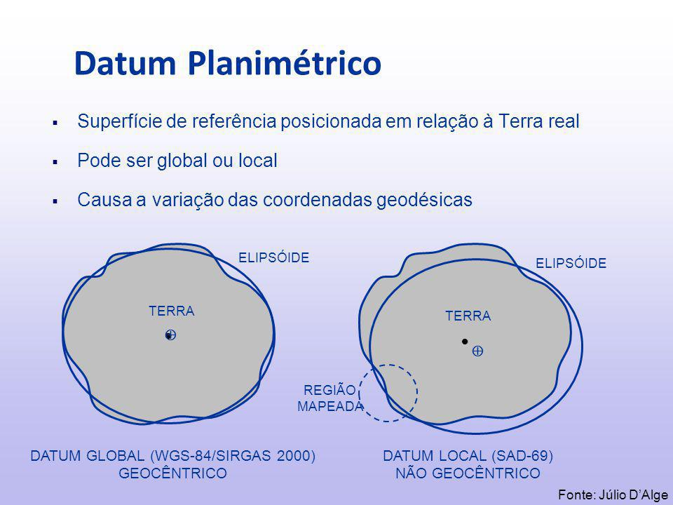 DATUM GLOBAL (WGS-84/SIRGAS 2000)