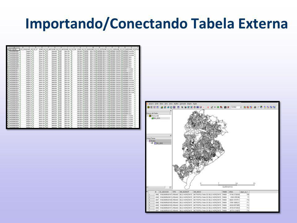Importando/Conectando Tabela Externa