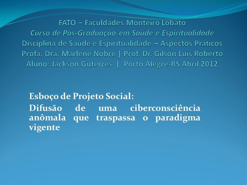 Esboço de Projeto Social: