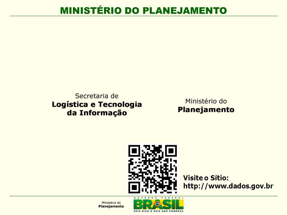 Visite o Sítio: http://www.dados.gov.br 28
