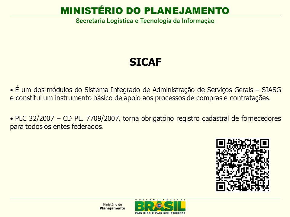 Secretaria Logística e Tecnologia da Informação