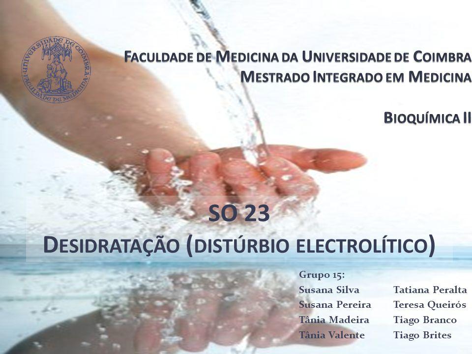 Desidratação (distúrbio electrolítico)