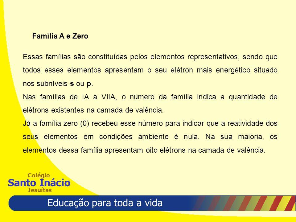 Família A e Zero