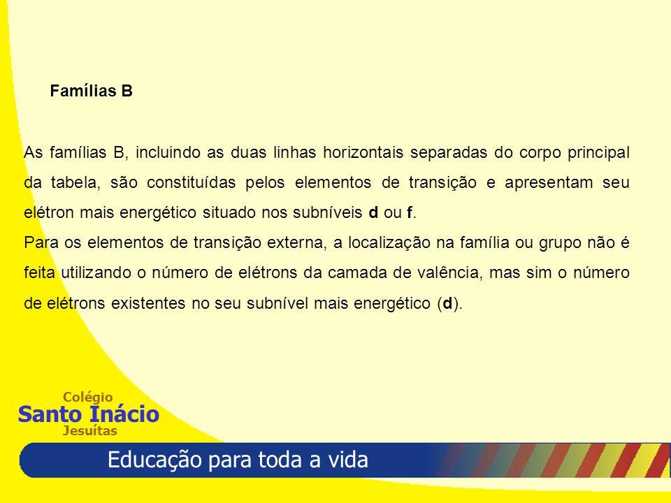 Famílias B