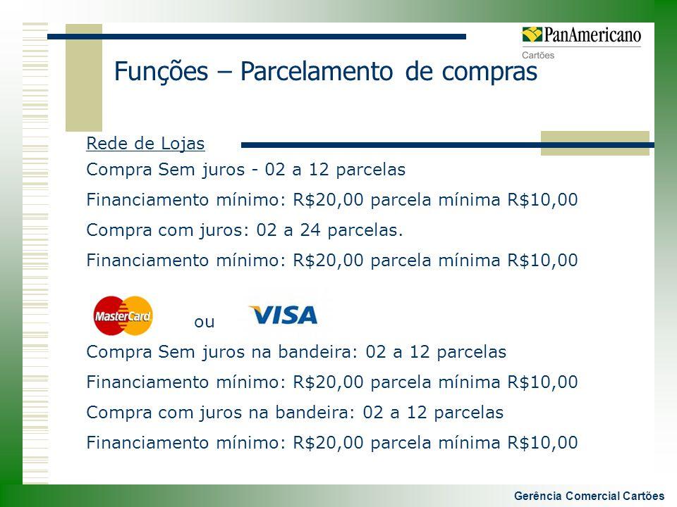 Gerência Comercial Cartões
