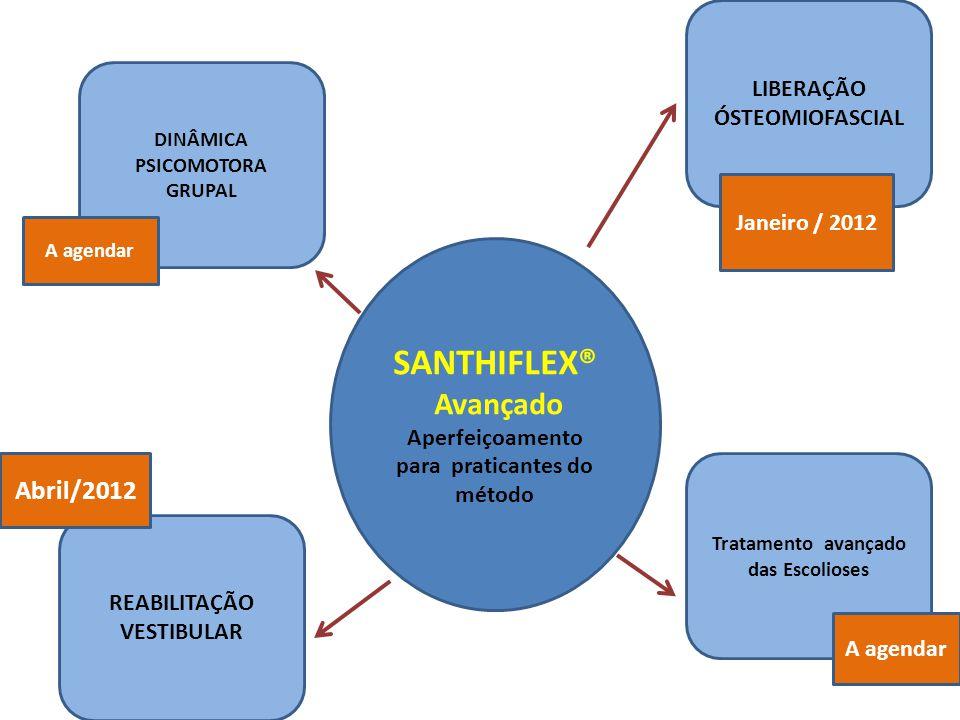 SANTHIFLEX® Avançado Abril/2012 LIBERAÇÃO ÓSTEOMIOFASCIAL