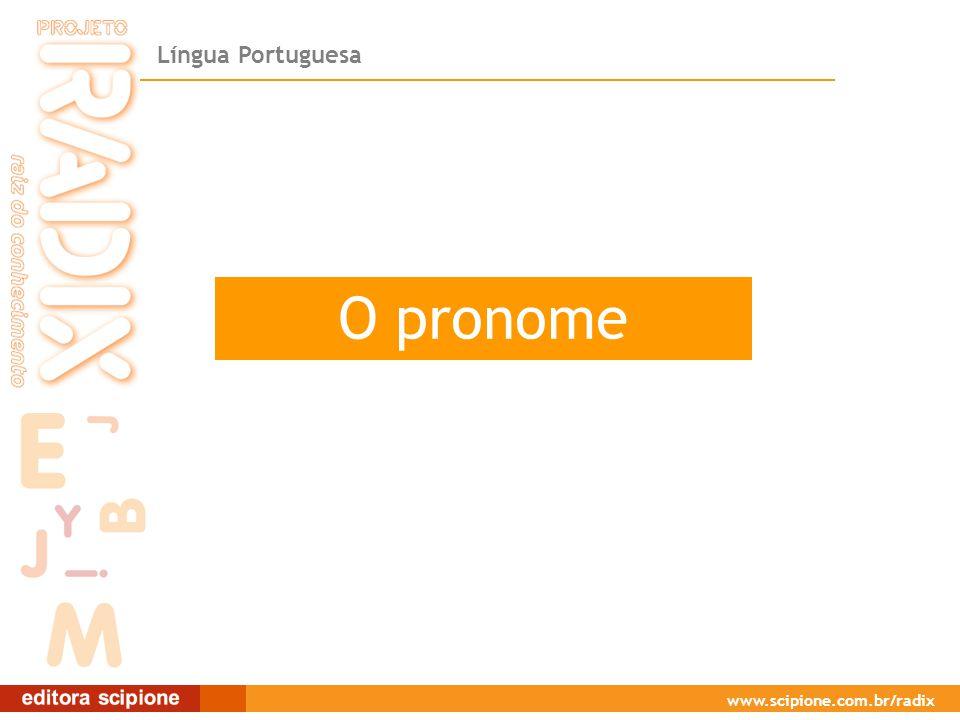 O pronome O pronome