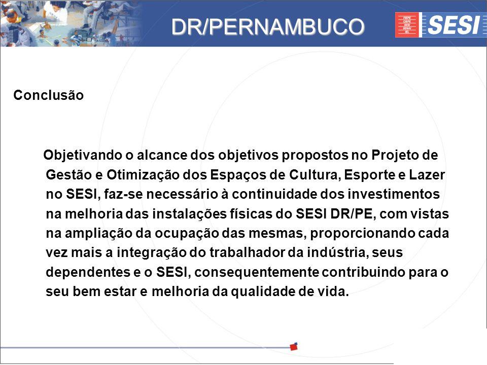 DR/PERNAMBUCO Conclusão