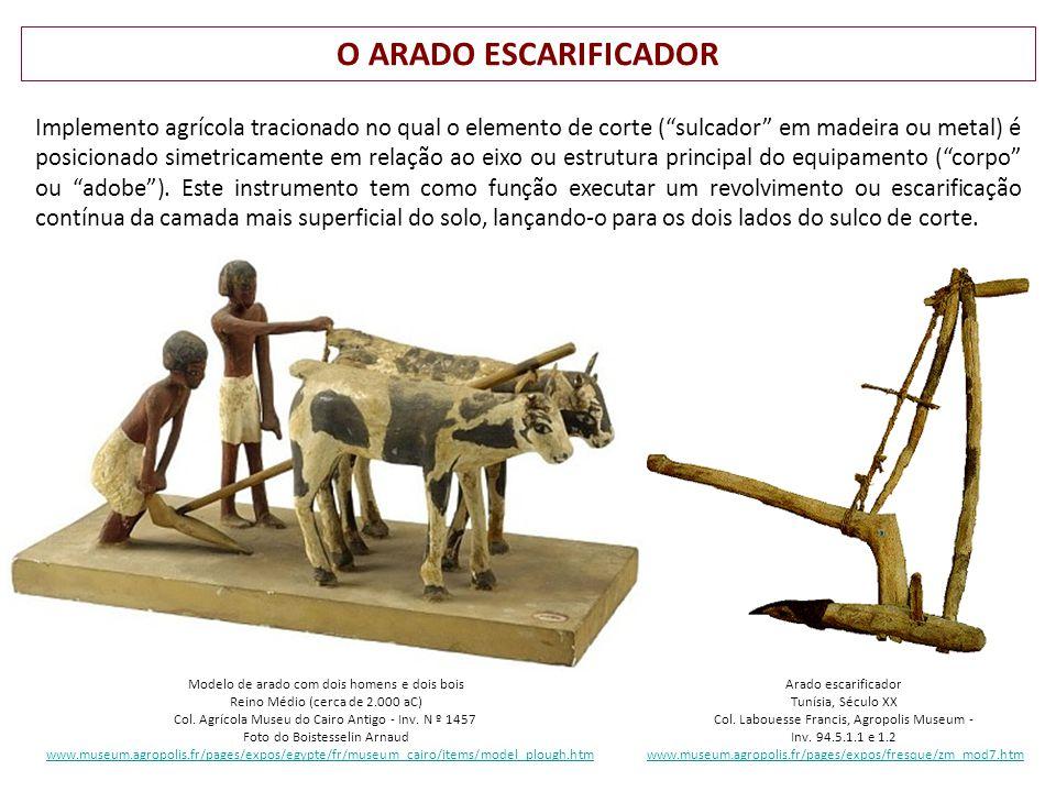 O ARADO ESCARIFICADOR