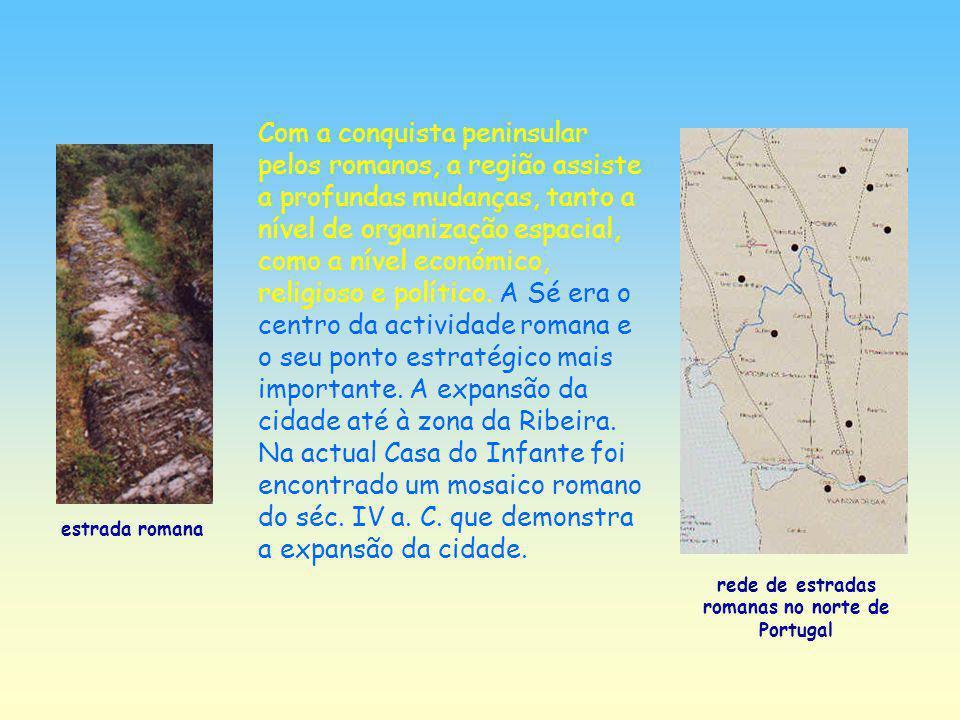 rede de estradas romanas no norte de Portugal