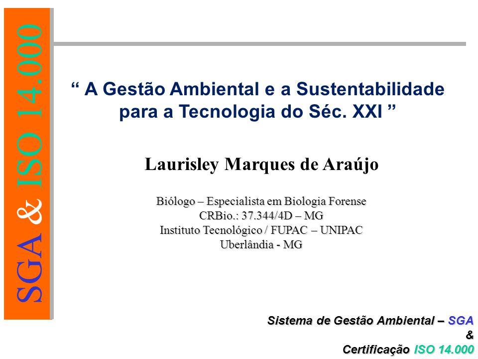 A Gestão Ambiental e a Sustentabilidade