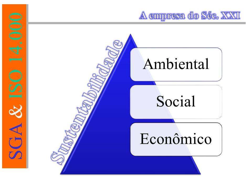 A empresa do Séc. XXI Ambiental Social Econômico Sustentabilidade