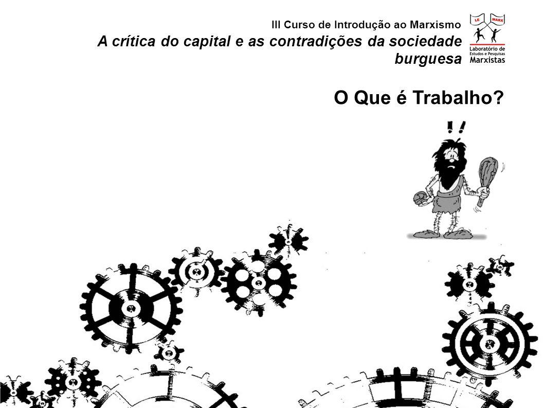 III Curso de Introdução ao Marxismo