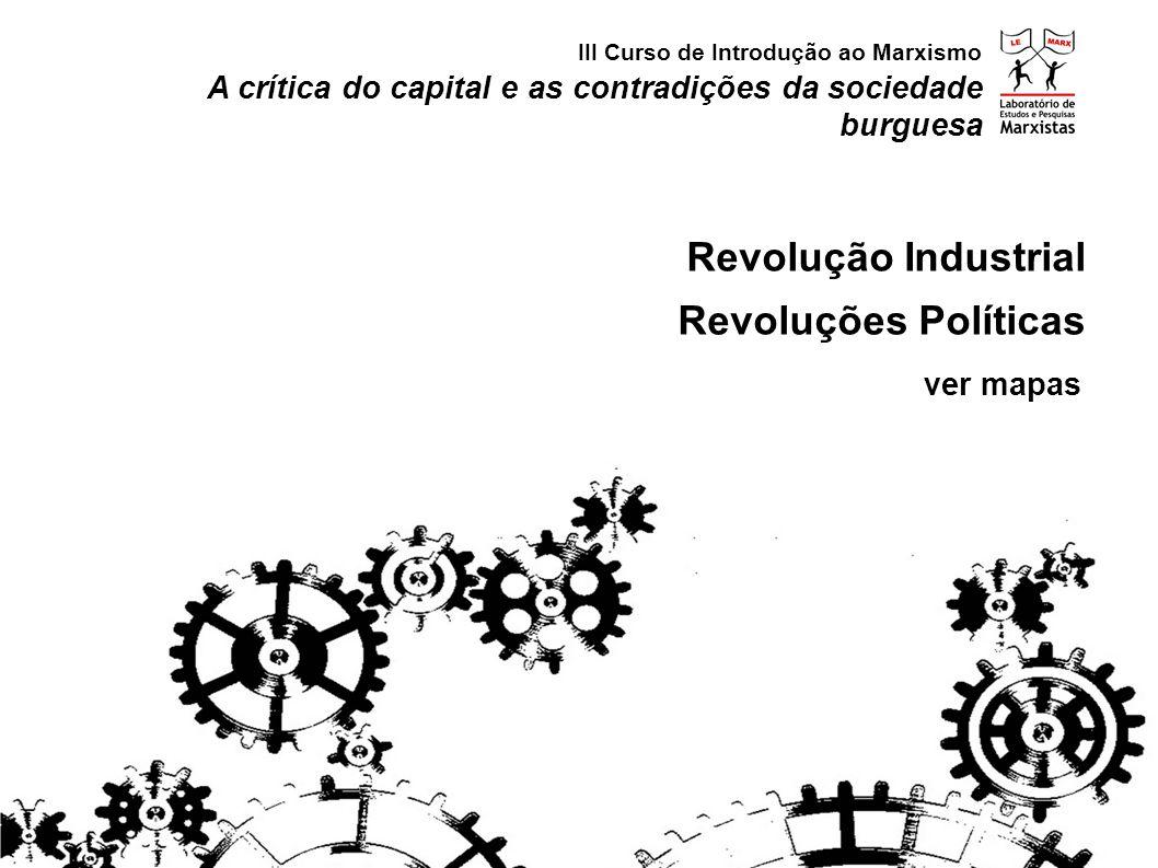 Revolução Industrial Revoluções Políticas