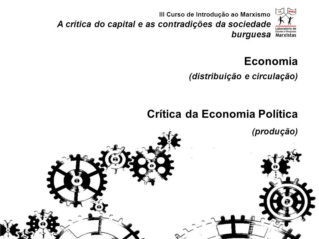 Crítica da Economia Política