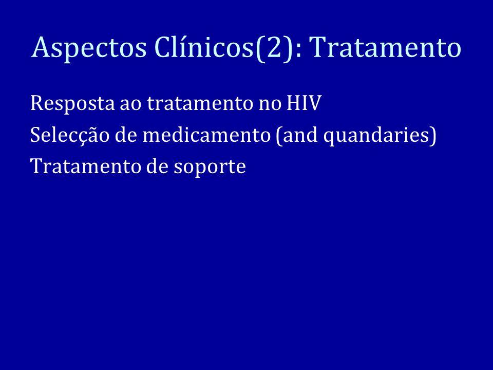 Aspectos Clínicos(2): Tratamento