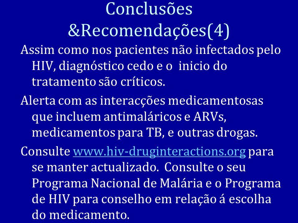 Conclusões &Recomendações(4)
