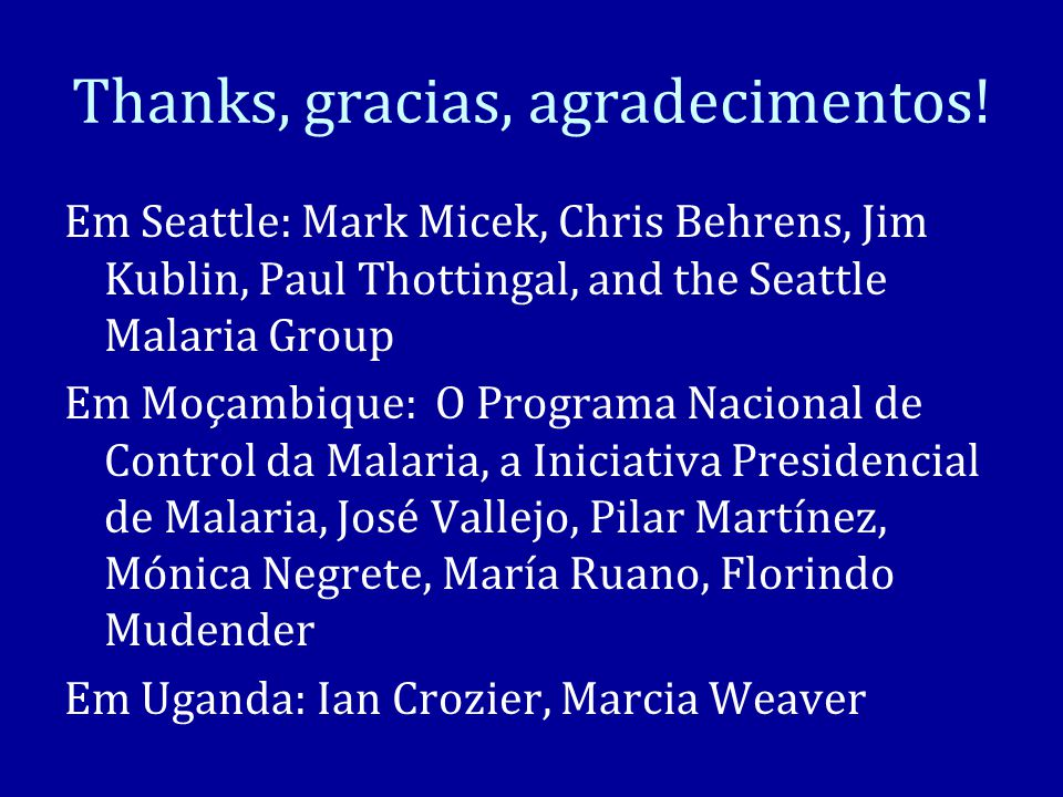 Thanks, gracias, agradecimentos!
