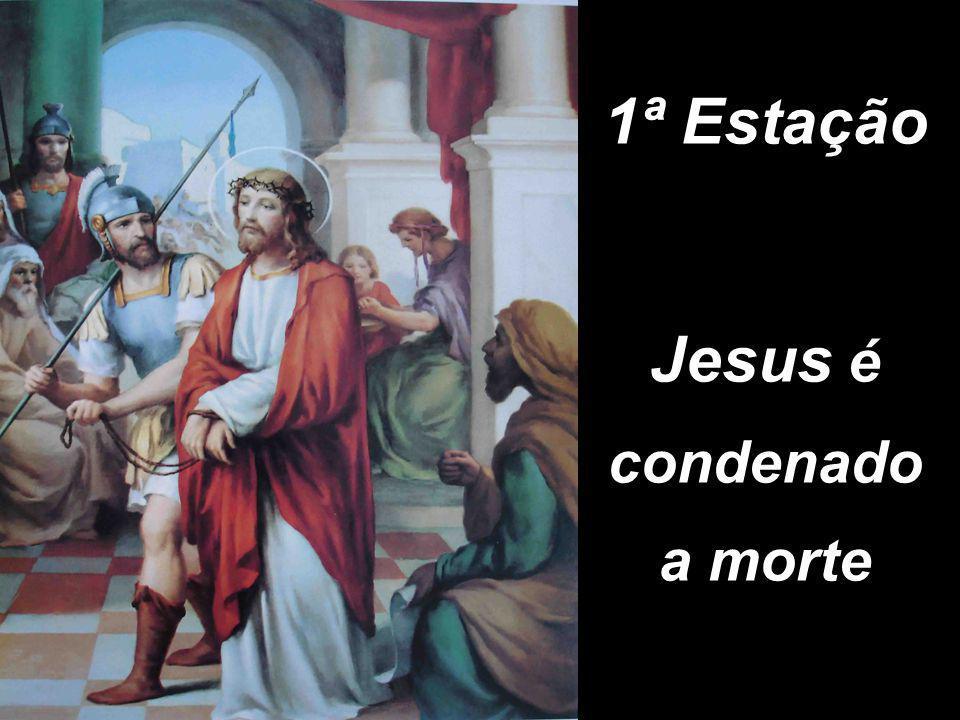 Jesus é condenado a morte