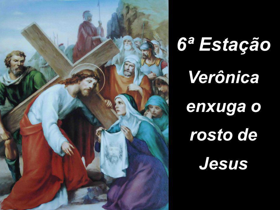 Verônica enxuga o rosto de Jesus