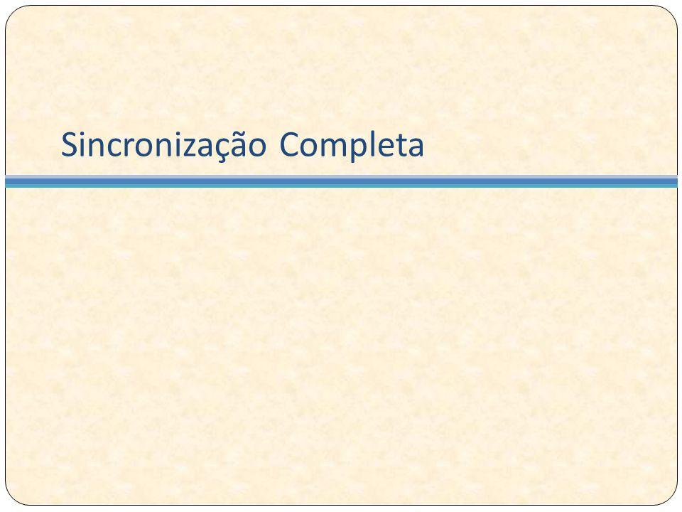 Sincronização Completa