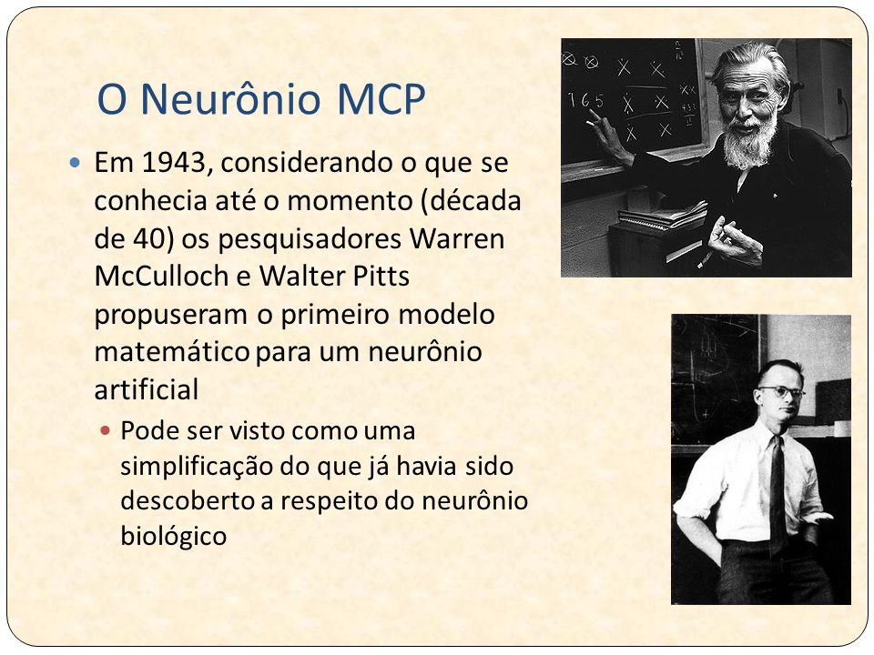 O Neurônio MCP