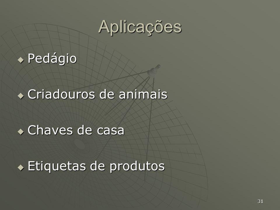 Aplicações Pedágio Criadouros de animais Chaves de casa