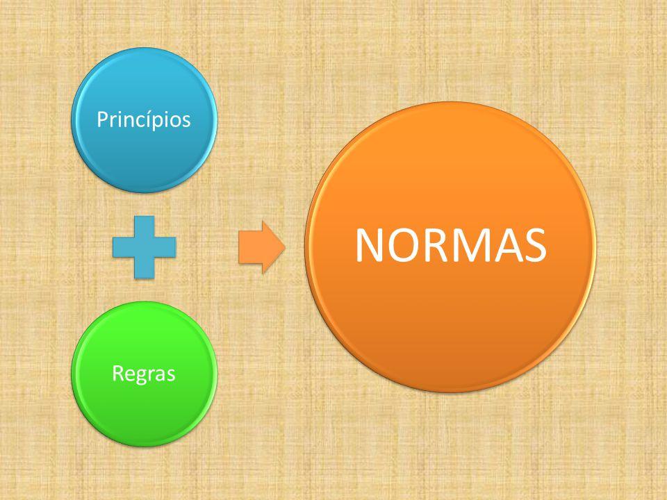 Princípios Regras NORMAS