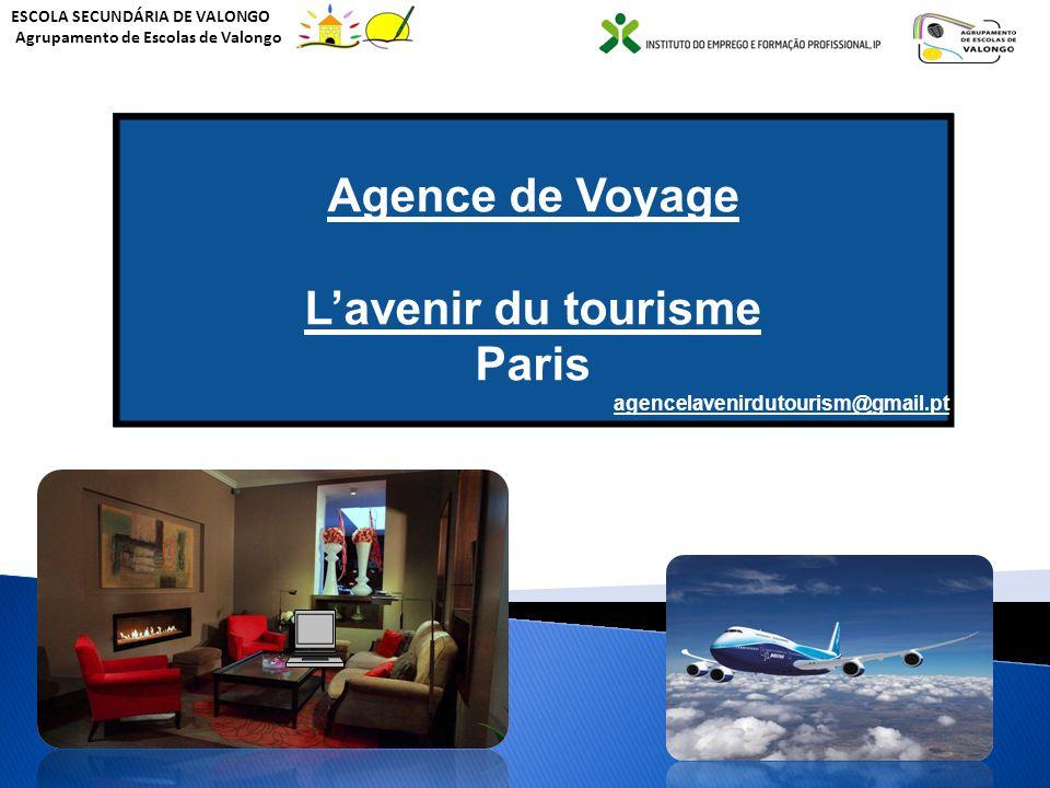 A agência de viagens Agence de Voyage