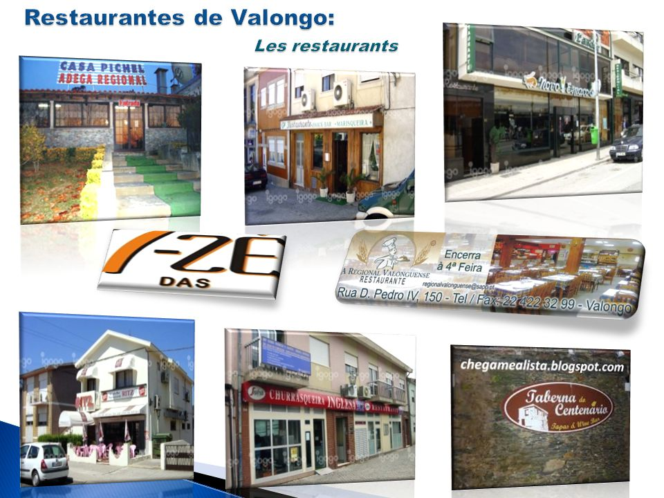 Restaurantes de Valongo: Les restaurants
