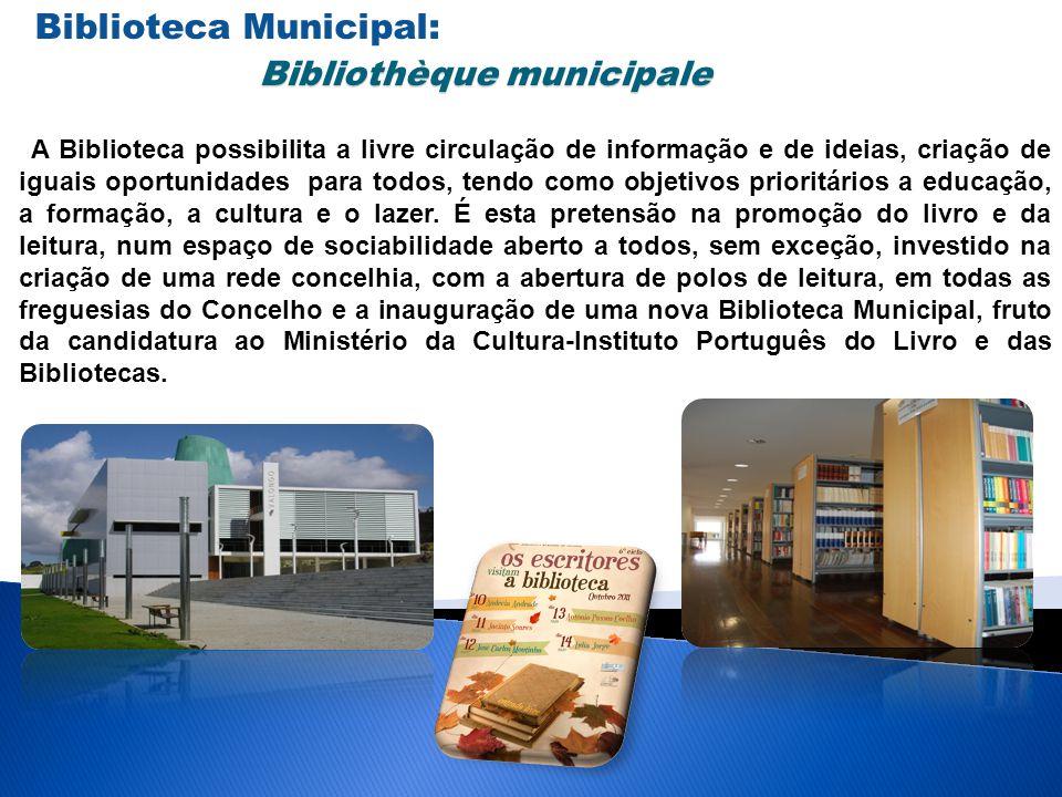 Biblioteca Municipal: Bibliothèque municipale