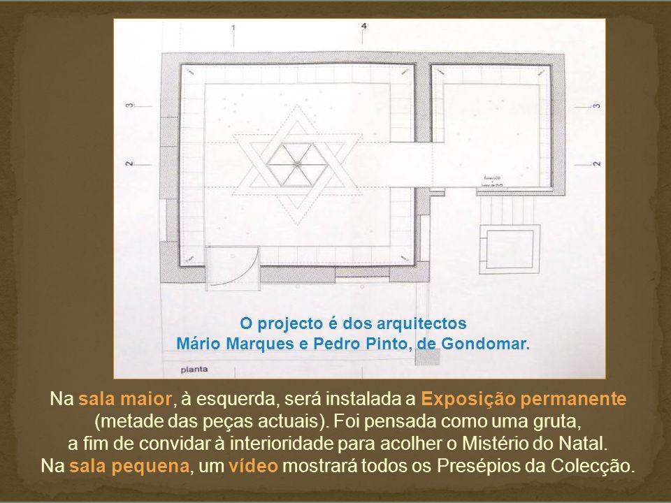 O projecto é dos arquitectos
