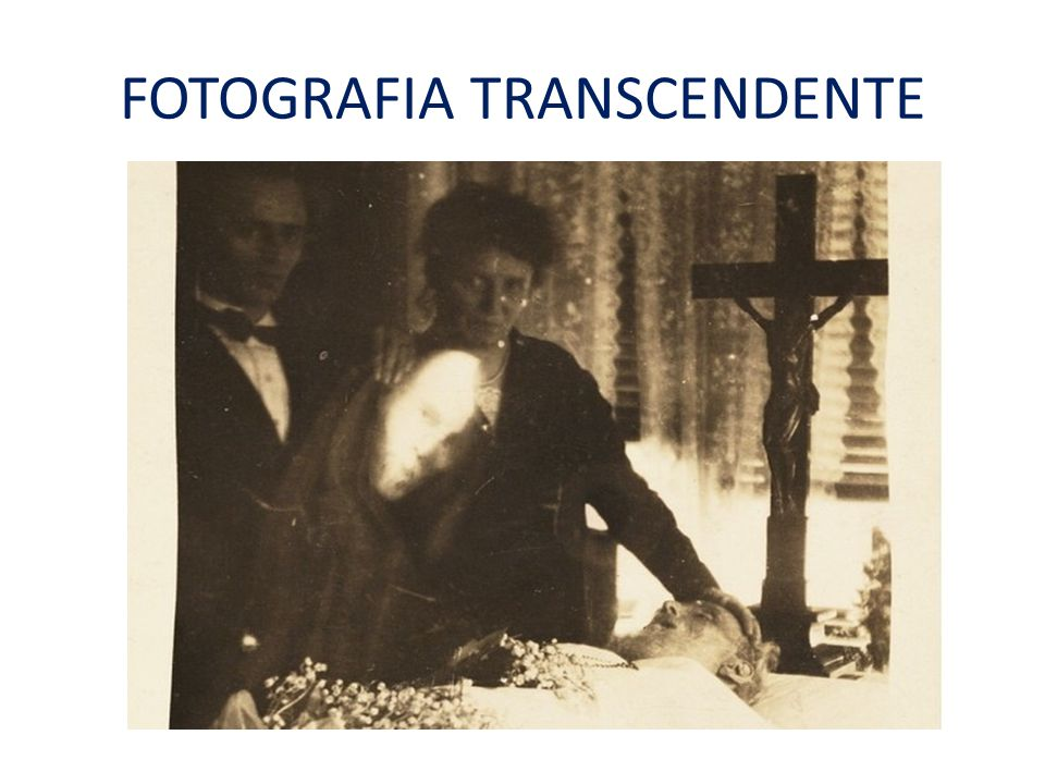 FOTOGRAFIA TRANSCENDENTE