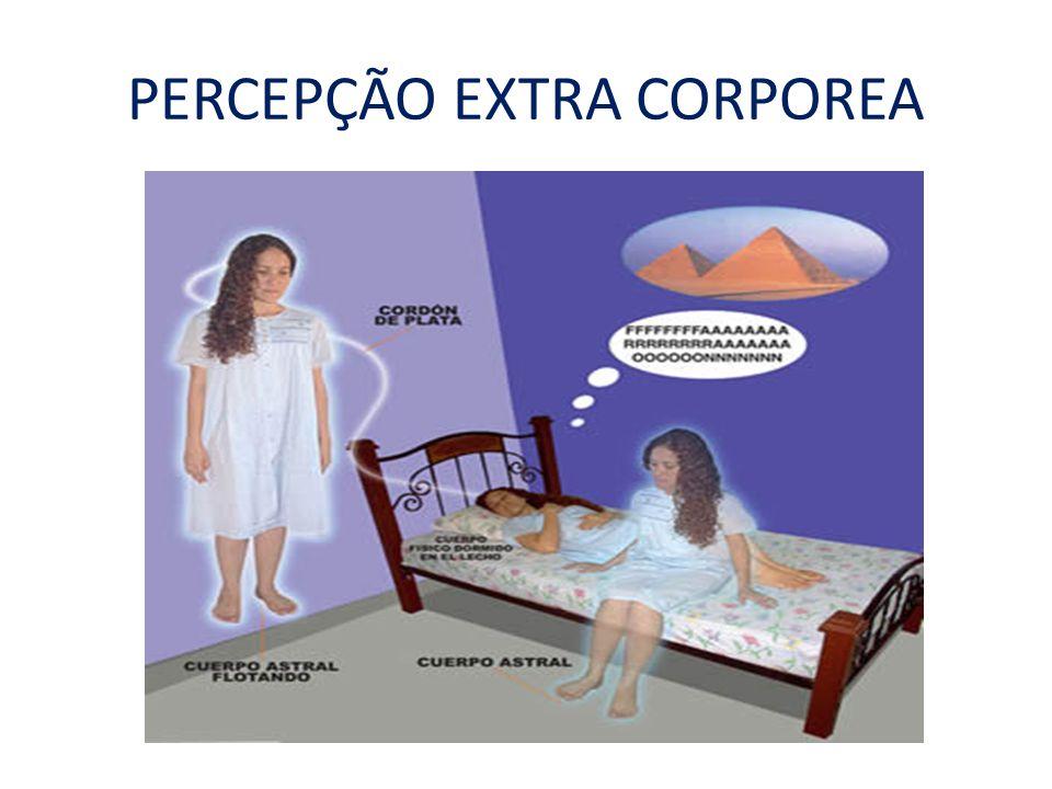 PERCEPÇÃO EXTRA CORPOREA