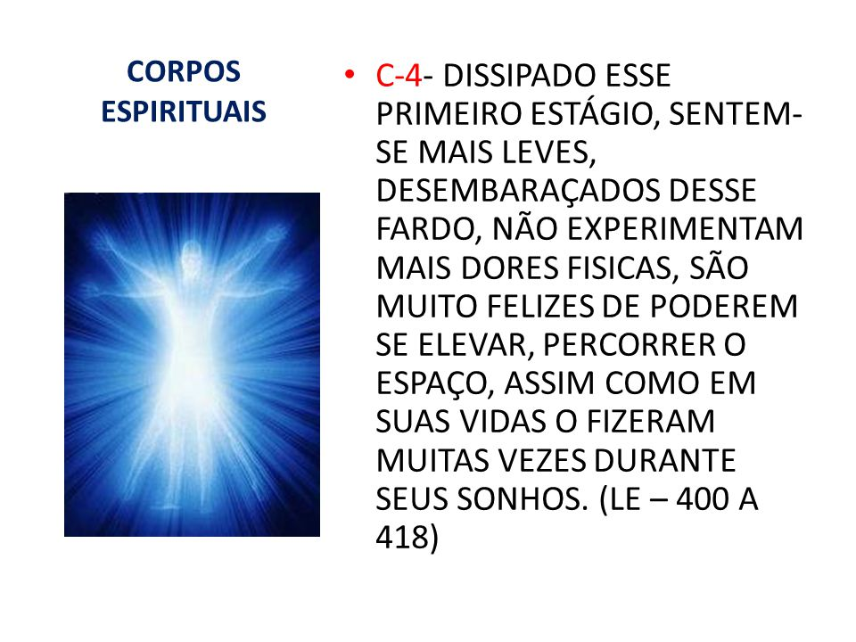 CORPOS ESPIRITUAIS