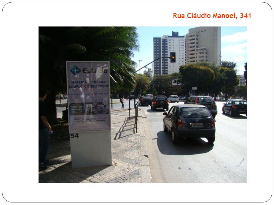Rua Cláudio Manoel, 341