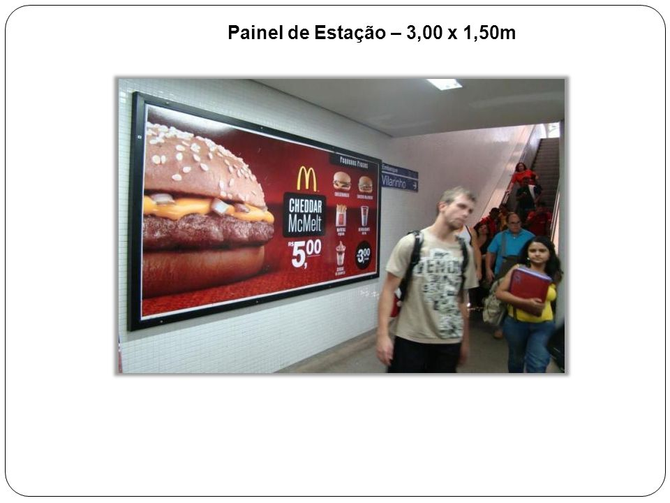Painel de Estação – 3,00 x 1,50m