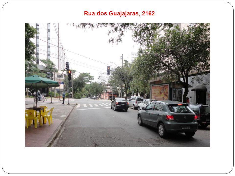 Rua dos Guajajaras, 2162