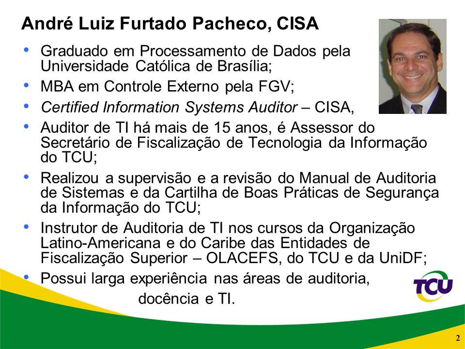 André Luiz Furtado Pacheco, CISA