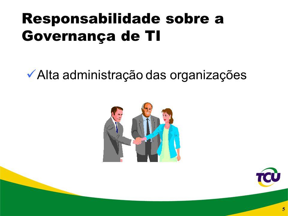 Responsabilidade sobre a Governança de TI