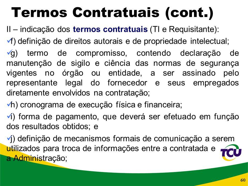 Termos Contratuais (cont.)